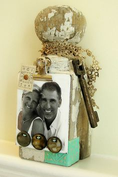 Altered Porch Post by Rebecca Sower, via Flickr                                                                                                                                                           Altered Porch Post                              ..