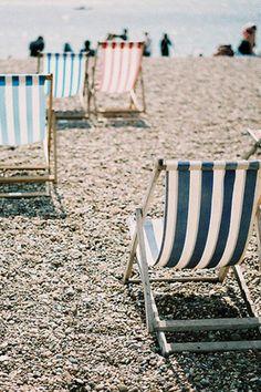 beach chairs, sand, lounge chairs, sea, summer vibes, beach weddings, beach time, beach life, stripe