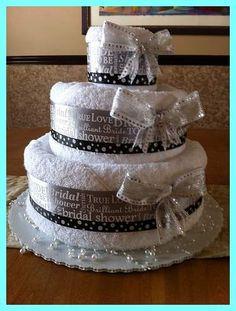 Wedding Shower Towel Cakes