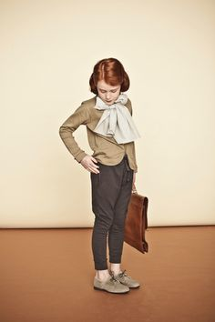 Unbelievable cool vinatge kid style! Styling: Mélanie Hoepffner, Art Direction: Isis-Colombe Combréas