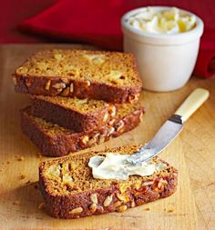 Apple Pumpkin Sunflower Bread: We packed fall flavors into this quick bread - pumpkin, apple, nuts and spices.  More apple recipes: http://www.midwestliving.com/food/fruits-veggies/irresistible-apple-dessert-recipes/page/26/0
