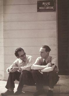 Man RayetMarcel Duchamp