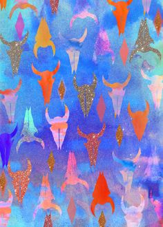Blue Rodeo Art Print