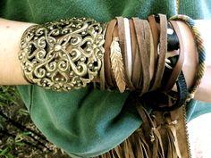 Accessorize! Bohemian look bracelet, accessori