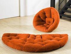 Nest type futon, nice. decor, idea, futons, chairs, convert futon, hous, fresh futon, mattress, futon chair