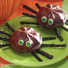 Gooseberry Patch Marshmallow Cookie Spiders Recipe