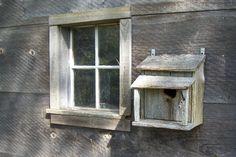 WELL USED BIRD HOUSE