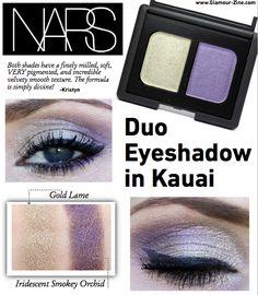 NARS Duo Eyeshadow in Kauai Review via @Holly Richer-Zine