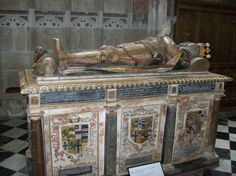 Tomb of Ambrose Dudley, St Mary's Church, Warwick.