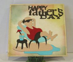Just ANutter paper crafter...: Exploring Cricut  More Father's Day Challenge craft wpaper, card idea, paper crafter, father day, cricut card, circut cardmak, fathers day cards, male card