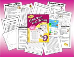($) Classroom Goal Setting by Laura Candler - Tools to teach your students how to set goals and create action plans for success