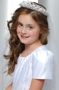 first holy communion hair