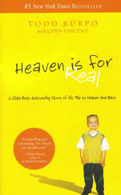 "Colton Burpo told Katie his astounding story about his journey to heaven which inspired the bestselling book ""Heaven is For Real"""