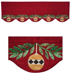 Martingale - Yuletide Ornaments Mantel Runner ePattern