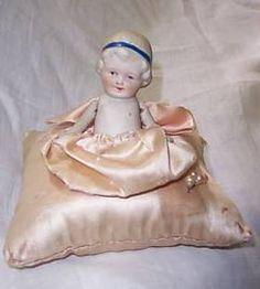 cushion doll, doll pincushion, pin cushion