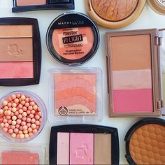 The Basics of Bronzer. Coral blush.