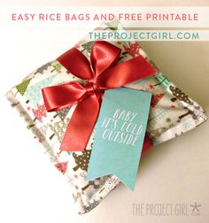 DIY Rice Bag handmad