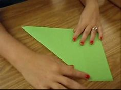 watch video directions for how to make many foldables
