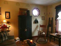 photos of primitive living rooms | Primitive Place ~ Primitive & Colonial Inpired Living Rooms