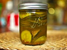 Curried Pickled Zucchini (Serious Eats)