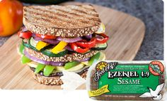 Ezekiel 4:9 Sesame Sprouted Whole Grain Bread | Food For Life