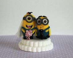 Minion wedding couple