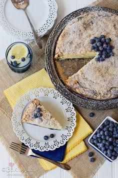 Easy Lemon Blueberry Coffee Cake by ©Bakingdom