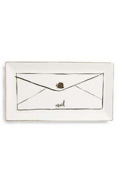 kate spade new york 'snail mail' trinket tray