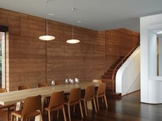 I want my next home to have rammed earth walls