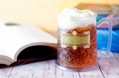 Recipe for Butterbeer replicated from theme park.