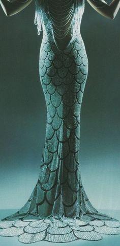 Gatsby 20's mermaid dress