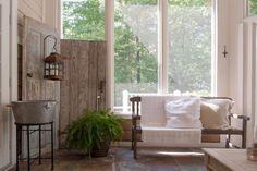 farmhouse porch by Adrienne DeRosa