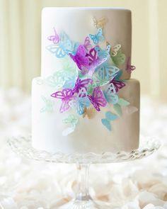 Butterfly Wedding Cake Design