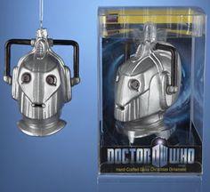 Cyberman Ornament-Doctor Who