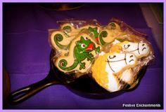 Rapunzel Party Cookies