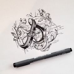 by Raul Alejandro galleries, arrows, behance, calligraphy, digital art, hand type, raul alejandro, design, hand lettering