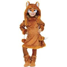 Sweet Fox Costume - Kids