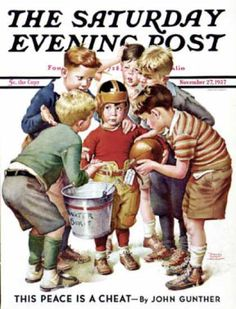 Saturday Evening Post - 1937-11-27: You Can Be the Water Boy! (Frances Tipton Hunter)