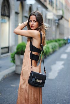 Strappy and flowy