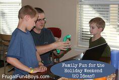 20 Ideas for Family Fun