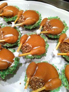 Turkey cupcakes beauti cupcak, turkey cupcak