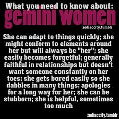 Zodiac City What you need to know about Gemini women