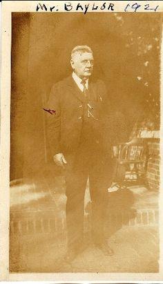 Vintage 1920's Baylor University, Baylor University President, Judge R.E.B. Baylor. Lots of cool vintage BU photos!