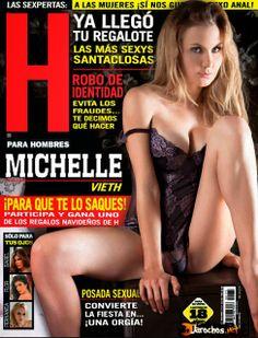 Michelle Vieth Revista H Diciembre 2013 [PDF Digital] | FamosasMex