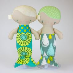 Baby Mermaid Doll