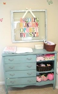 cute idea for in a baby room