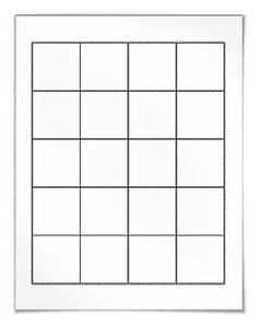 "Free blank square label template download: WL-5175 square label template in Word .doc, PDF and other formats. View here: http://www.worldlabel.com/Pages/wl-ol5175.htm |     Size: 1.8"" x 1.8"" 