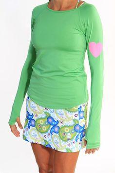 clover green long sleeve... maybe for TInker Bell run