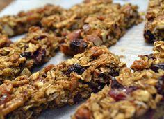 Cranberry Almond Granola Bars |