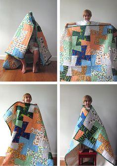 Ham Bone's connected to the Quilt Bone by Michelle Engel Bencsko | Cloud9 Fabrics, via Flickr